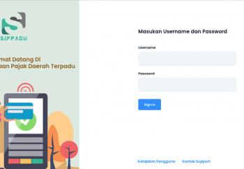 Aplikasi Pengelolaan Pajak Daerah Terpadu