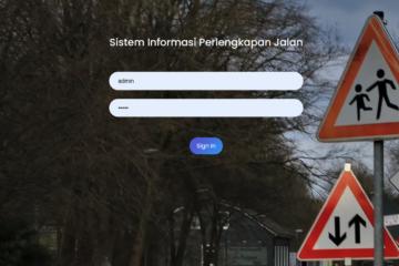 Aplikasi Sistem Monitoring Jalan